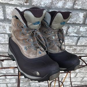 Women's North Face Chilkat II Winter Leather Boots